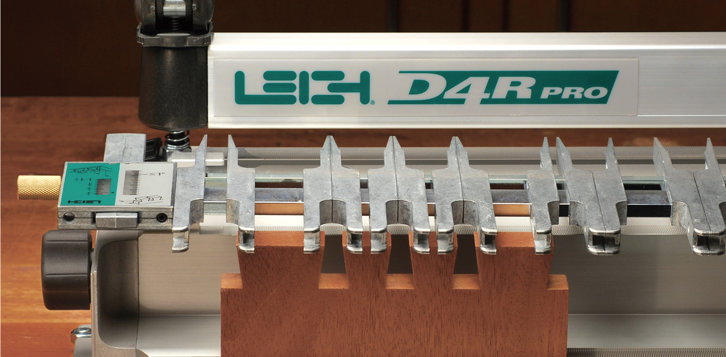 Features Leigh D4R Pro Dovetail Jig