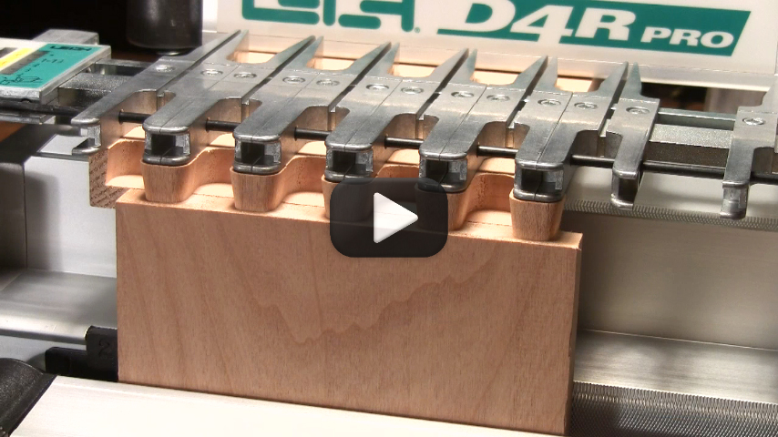 D4R Pro Single Pass Half-Blind Dovetails Video