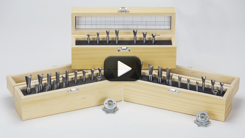 Leigh Brand Router Bits Video